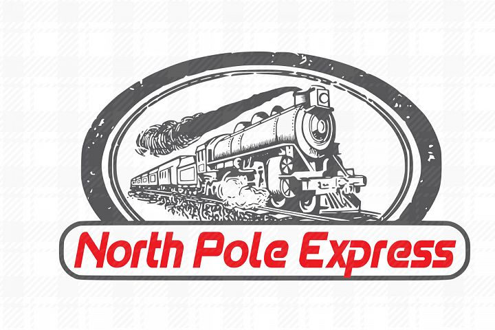 Christmas,North pole express SVG
