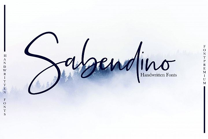 Sabendino - Handwritten Fonts
