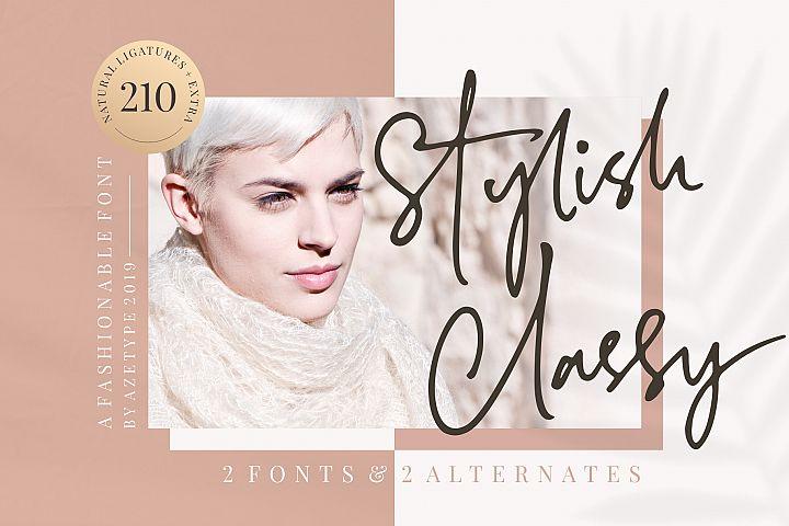 Stylish Classy // 2 Fonts