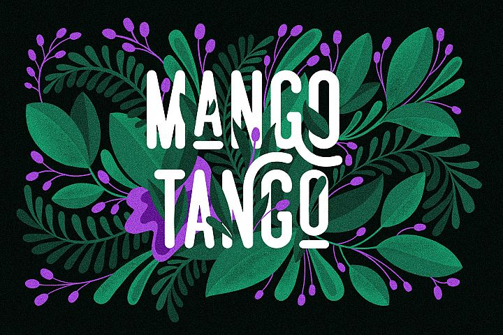 3 Fonts Mango Tango Collection