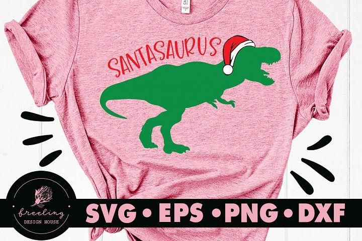 Santasaurus SVG DXF EPS PNG