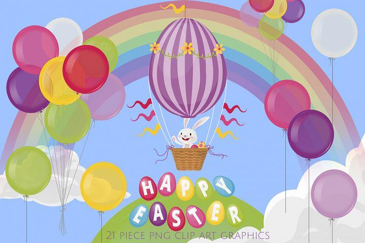 Easter Bunny Hot Air Balloon Ride