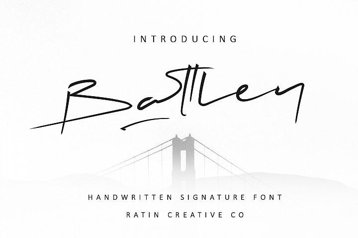 Battley Handwritten Signature