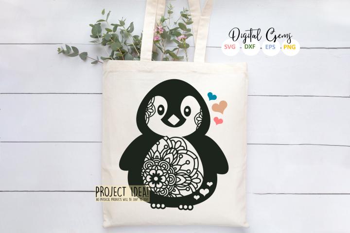 Penguin design - Free Design of The Week Design1