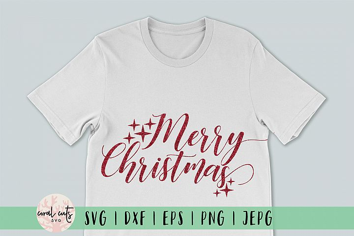 Merry Christmas - Christmas SVG EPS DXF PNG
