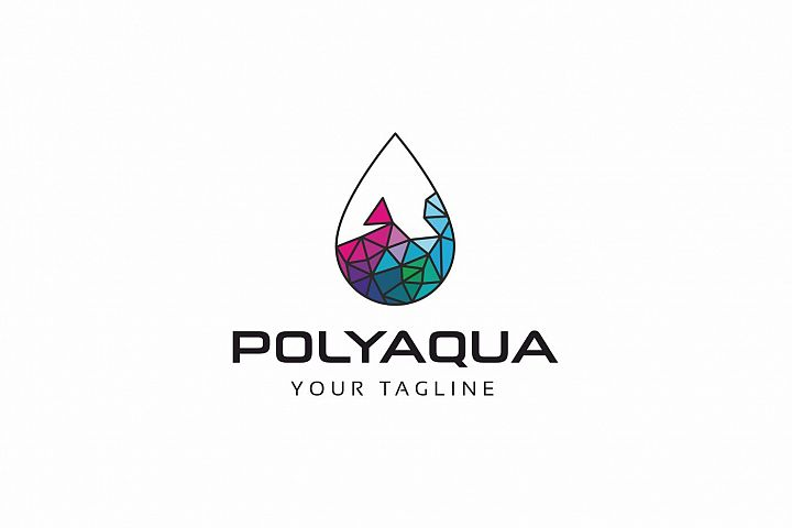 Polygon Aqua Logo