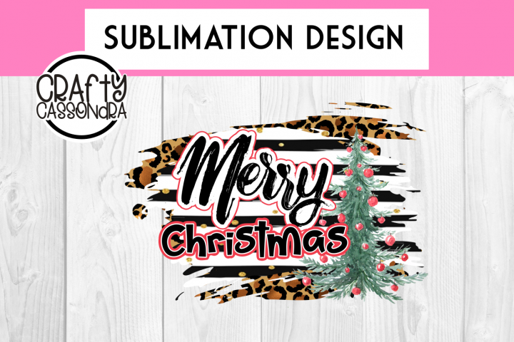Sublimation print - Merry Christmas - PNG only - printable