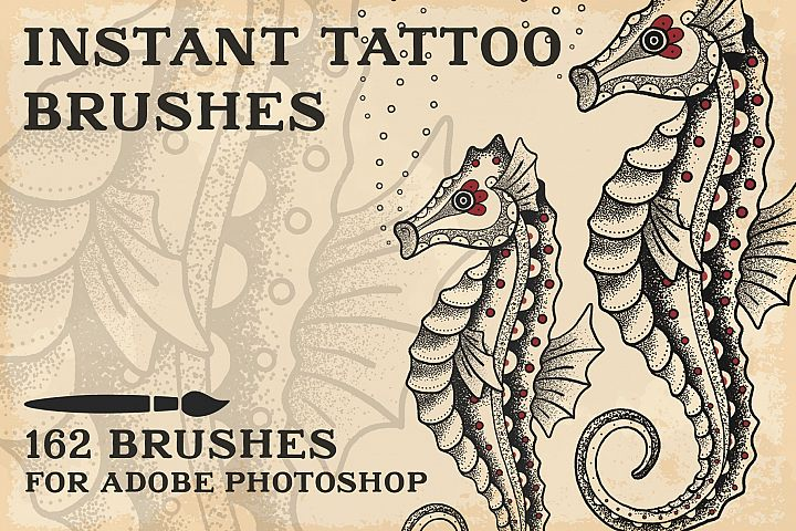 Instant Tattoo Brushes PS