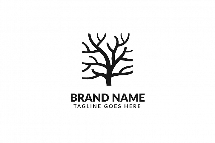 Tree Trunk Logo