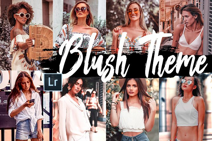 5 Blush Desktop Lightroom Presets and ACR preset, wonderland