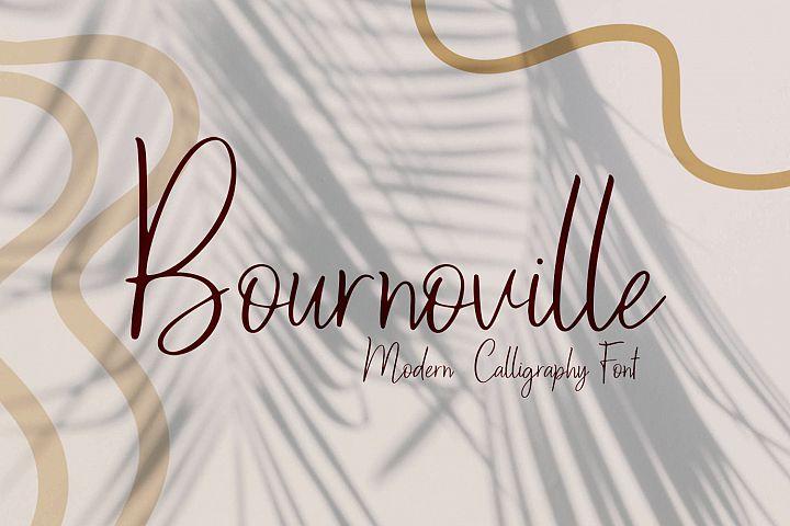 Bournoville Script