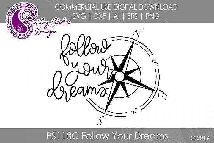 Follow Your Dreams SVG DXF Ai EPS PNG