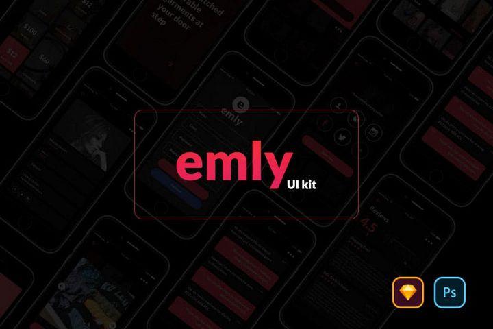 Emly Creative Shopping App UI Kit