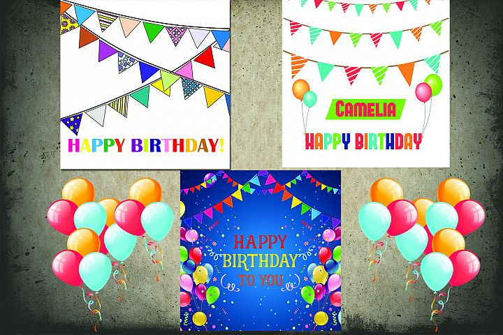 Birthday Greeting Cards Pack