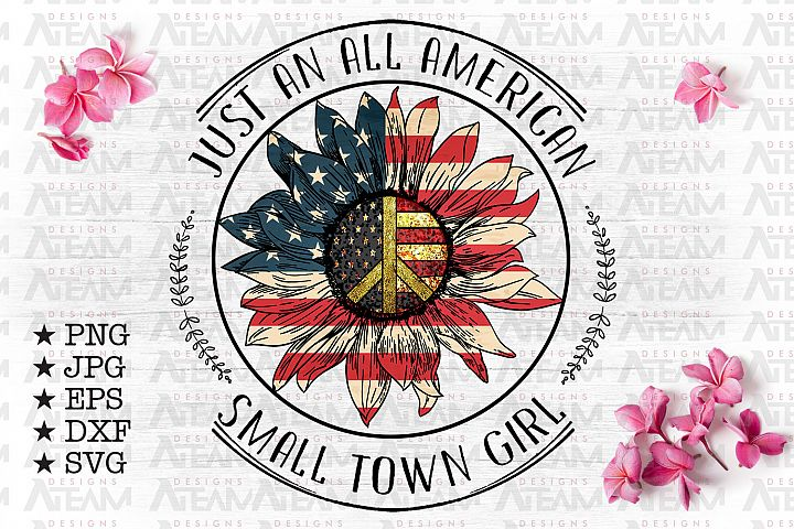 Just An All American Small Town Girl Png Cur File