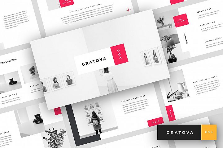 Gratova - Creative Google Slides Template