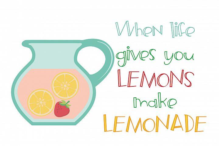 ZP Frozen Lemonade - Free Font of The Week Design1