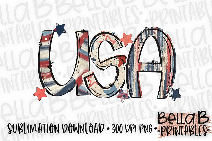 USA Sublimation Design, 4th Of July, Independence Day