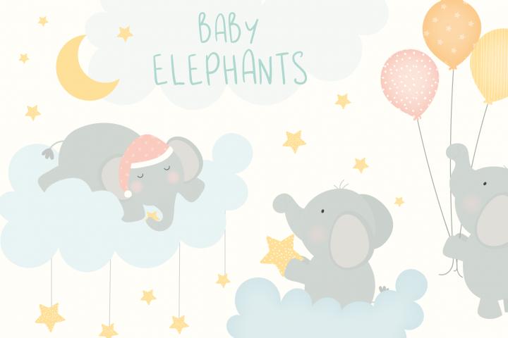 Baby elephant set