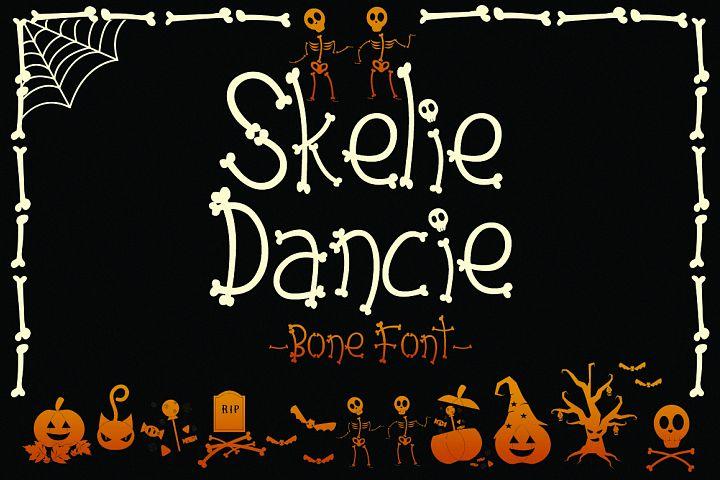 Skelie Dancie - Bone Font