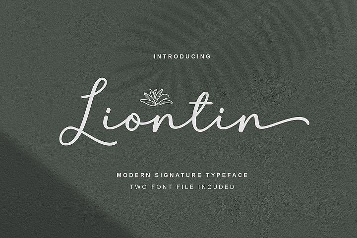 Liontin Script