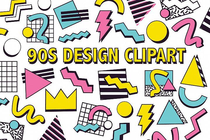 90s DESIGN CLIPART
