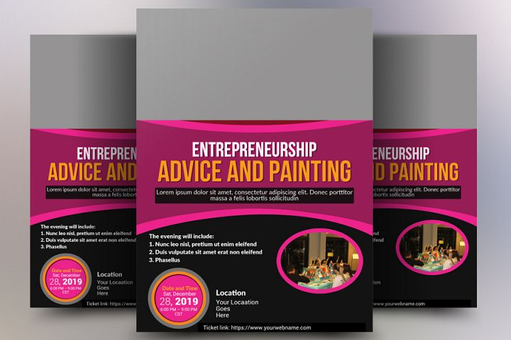 Advice and Paint Flyer