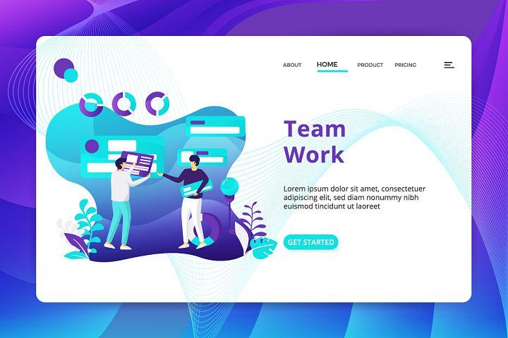 Team Work example image 2
