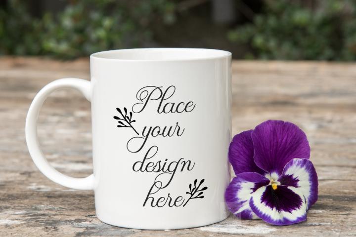 Coffee mug mockup PSD 11oz sublimation mock up mugs