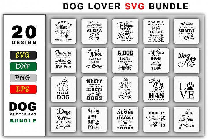 Dog Lover SVG Bundle