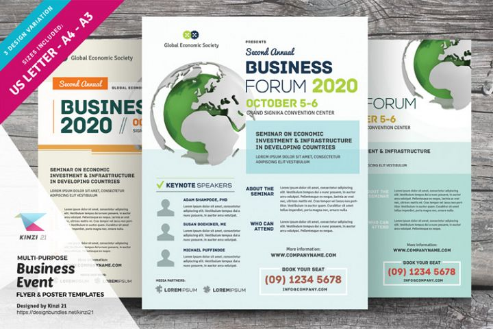 Multi Purpose Business Flyer & Poster Templates
