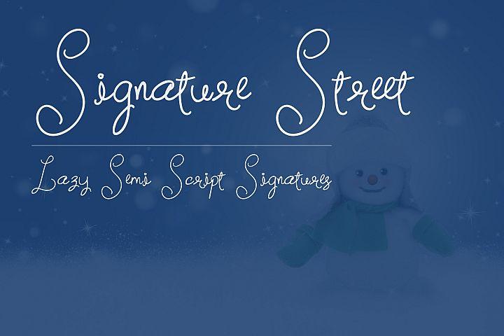 Signature Street