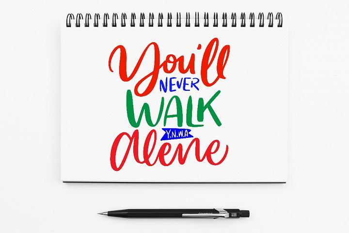 SVG - Youll Never Walk Alone