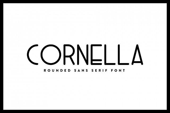 Cornella - Font Family