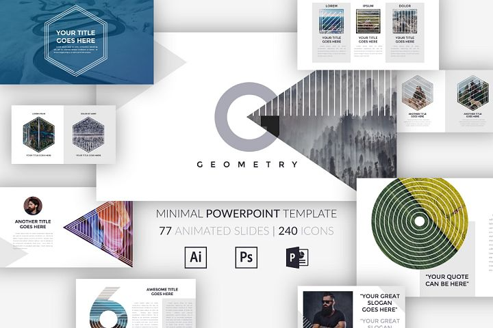 G E O M E T R Y. Minimal Powerpoint Template