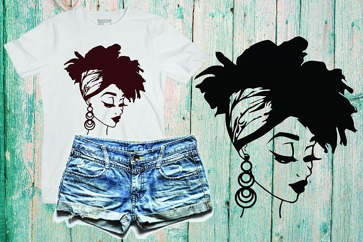Black woman svg Natural Hair Svg Afro svg,black woman 234SV