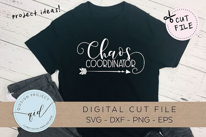 Chaos Coordinator, SVG DXF PNG EPS