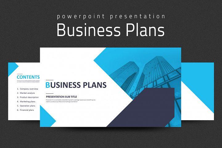 commercial presentation template products design bundles