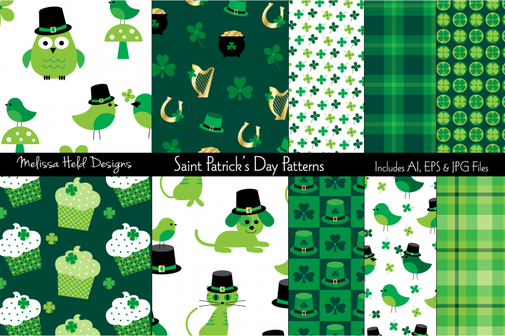 Saint Patricks Day Patterns