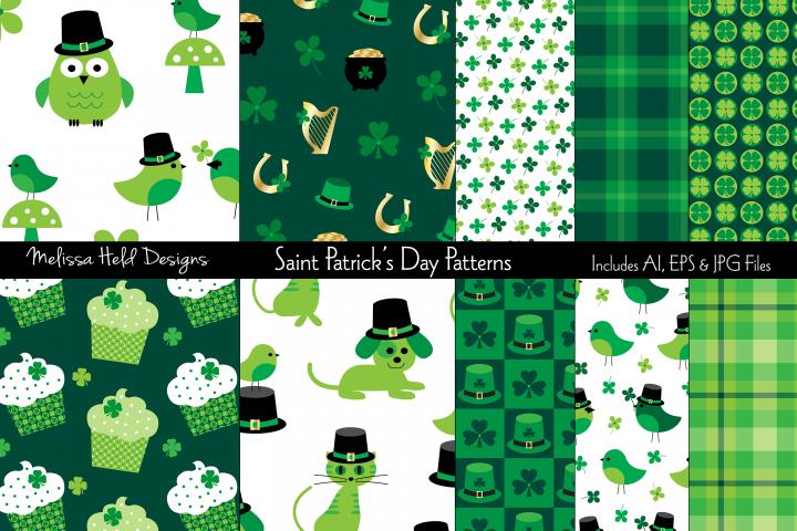 Saint Patricks Day Patterns