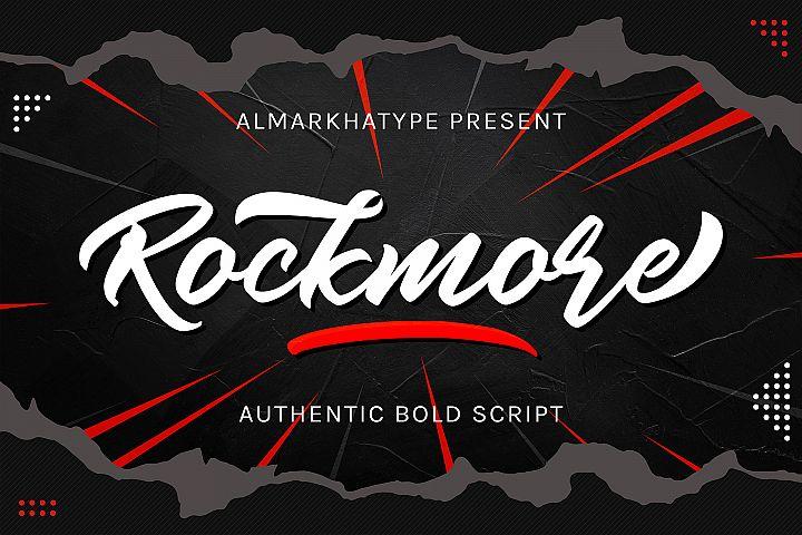 Rockmore - Authentic Bold Script