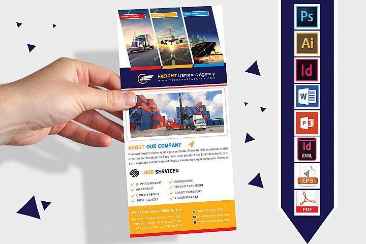 Rack Card | Transport Agency DL Flyer Vol-01