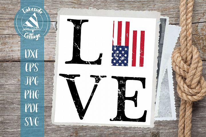 LOVE Utah - 4th of july svg - Memorial day svg dxf eps