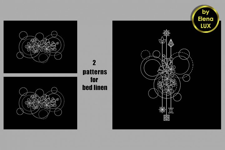 Patterns for bed linen