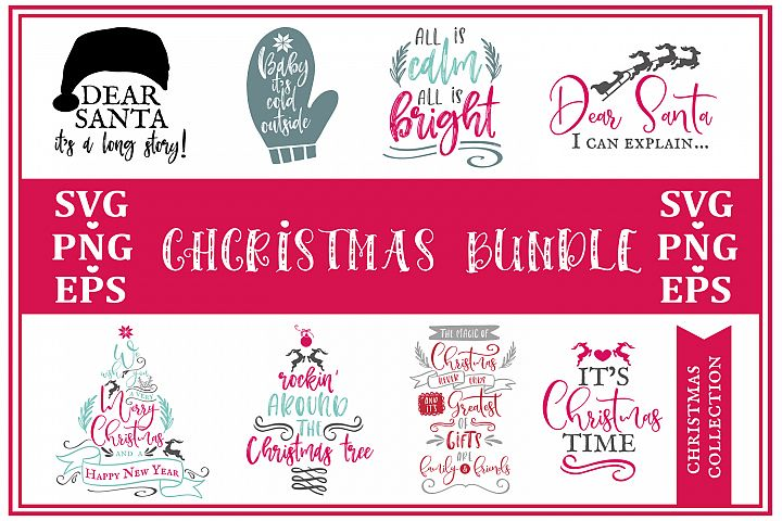 Big Cristmas Bundle SVG