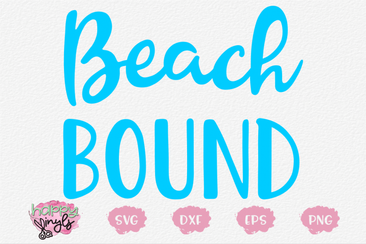 Beach Bound - A Summer SVG
