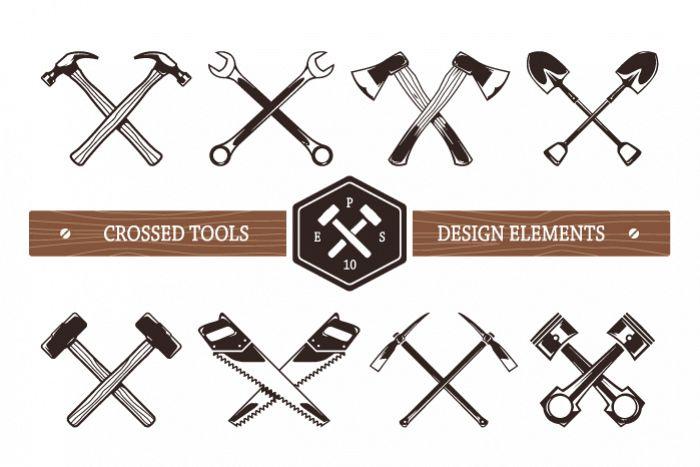 Crossed Work Tools example