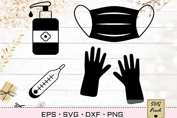 Protection gear SVG