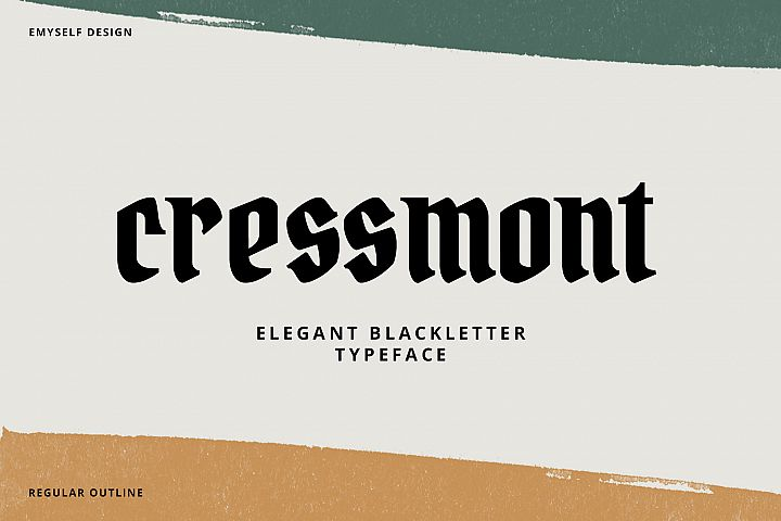 Cressmont Font