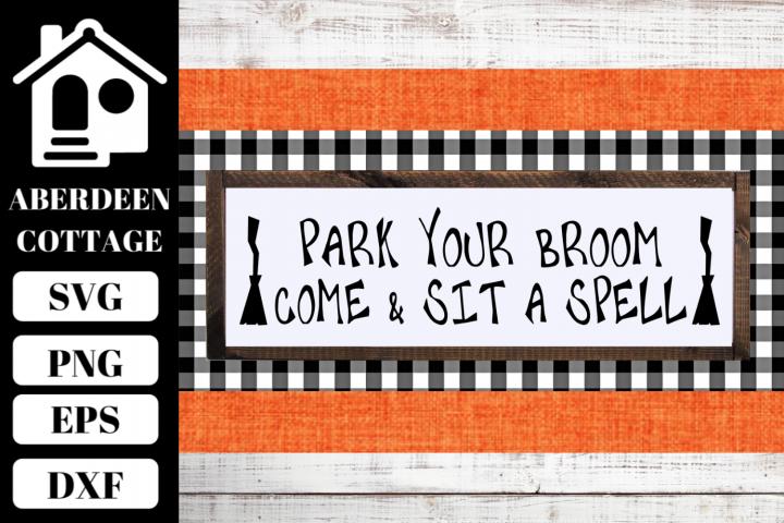 Park Your Broom SVG